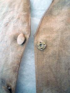 Veston detail bouton-